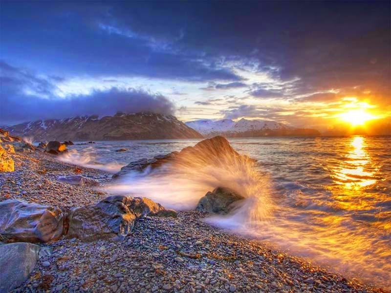 Fotografías impresionantes, Christopher Zimmer, Bering Sea Summer