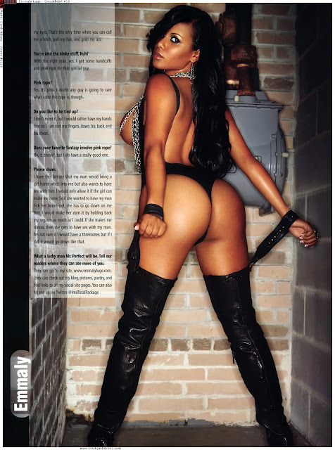 Emmaly Lugo standing booty shot