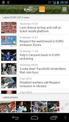 UEFA EURO 2012 1.1 APK