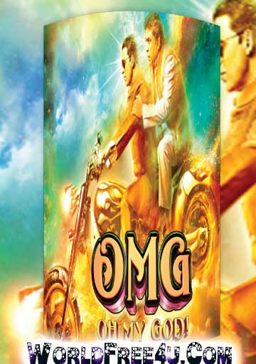 Poster Of Hindi Movie OMG Oh My God (2012) Free Download Full New Hindi Movie Watch Online At worldfree4u.com