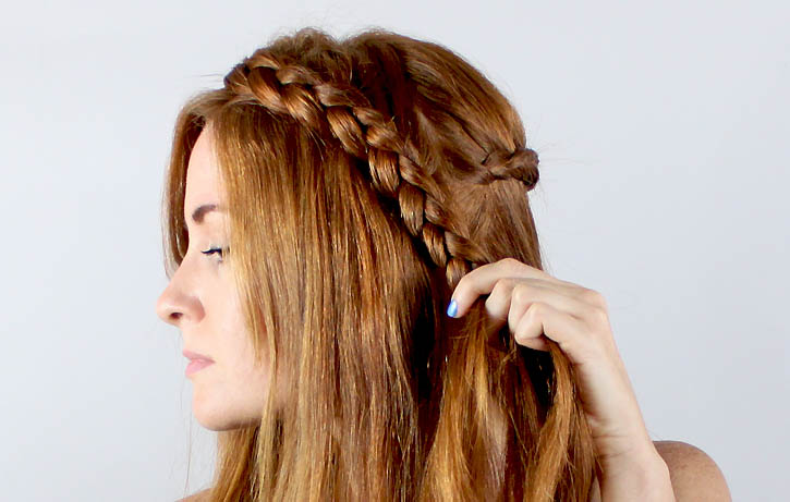 Hair6 Crown Braided Hairstyle Step by Step Tutorial