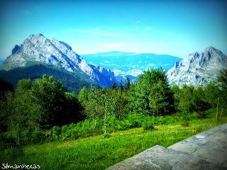 Santuario de Urkiola - mirador-