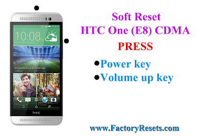Soft Reset HTC One (E8) CDMA