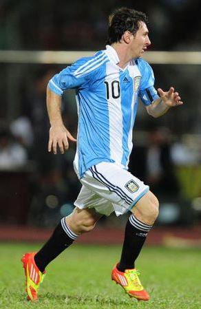 botas de Leo Messi 2012