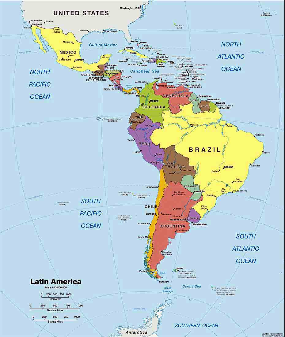 The Reason Why This Region Is Called Latin America, Is The Fact That The  Entire Region Of This Portion Of The Americas Was Under The Control Of 3  Major ...