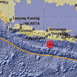 info gempa 16 maret 2014