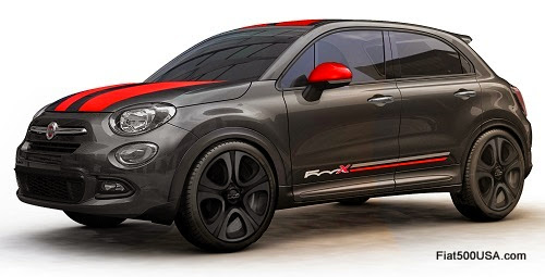 Fiat 500X by Mopar