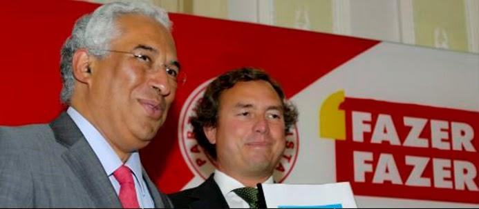 António Costa e João Tiago Silveira