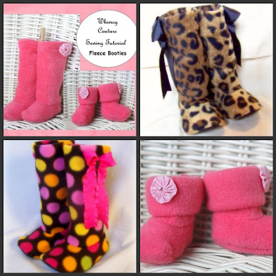 LDS Mom to Many: Free Baby Bootie Sewing Pattern