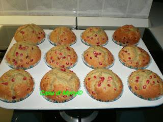 muffin alla melagrana