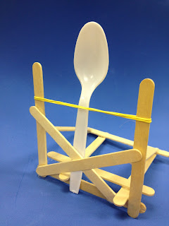 Catapult designed by a 7th grade student