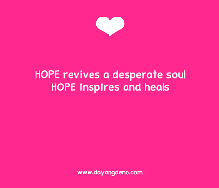 Wordless Wednesday : Hope