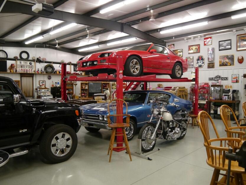 Dan's Camaro and Chevelle