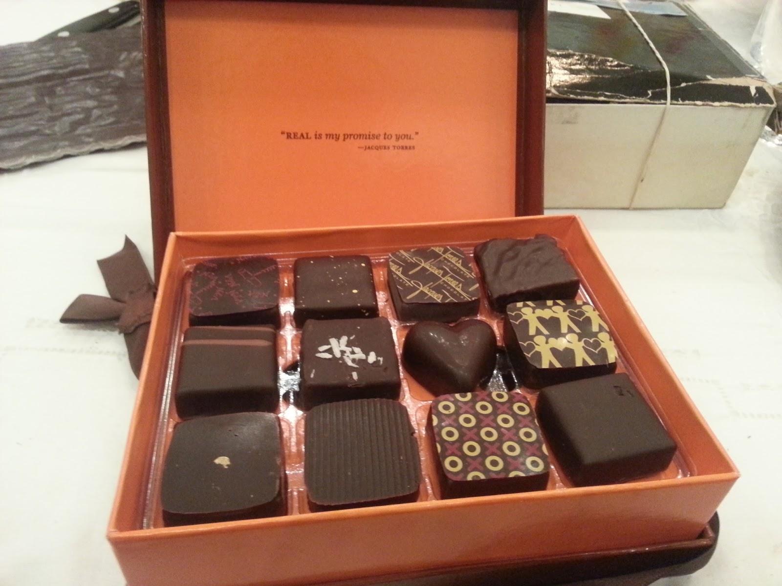 Chocolate NYC: BLU Boy and Jacques Torres Bon Bons