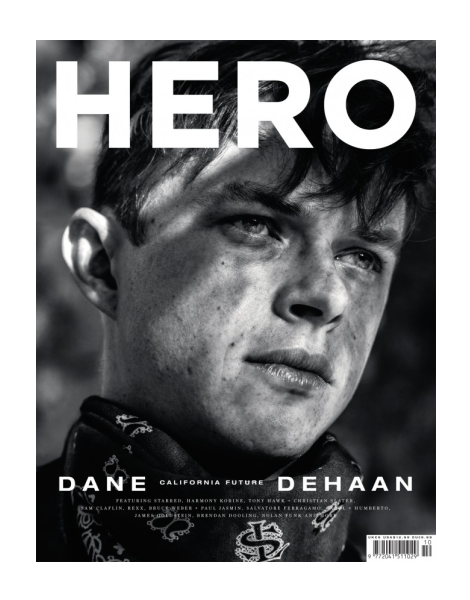 Dane DeHaan by Hedi Slimane for Hero Magazine No.10