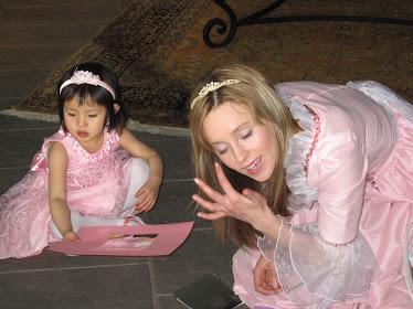 Mimi et la Princesse Vanessa à son party de fête