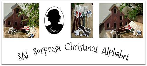 SAL Sorpresa Christmas Alphabet