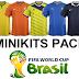 حصريا اطقم كأس العالم المصغرة لفيفا 2007 ,fifa 07 minikits world cup 2014 + شرح التركيب