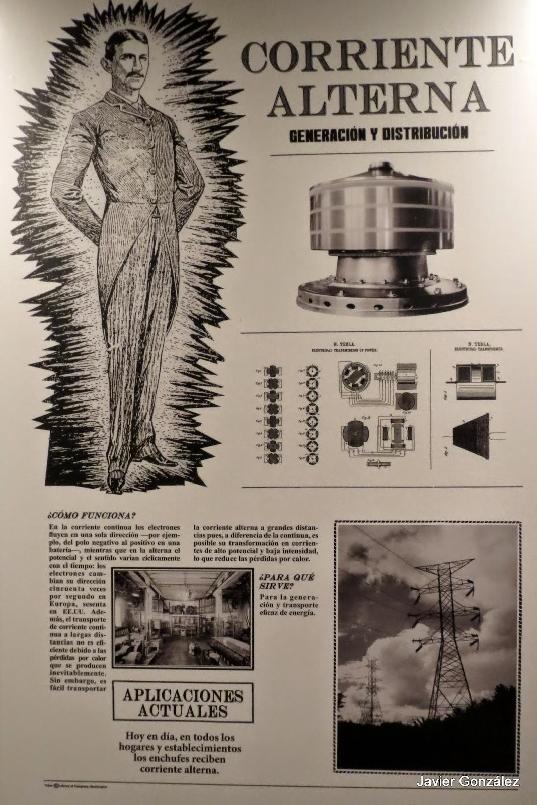 Las Im 225 Genes Que Yo Veo Nikola Tesla Exposici 243 N Suyo Es