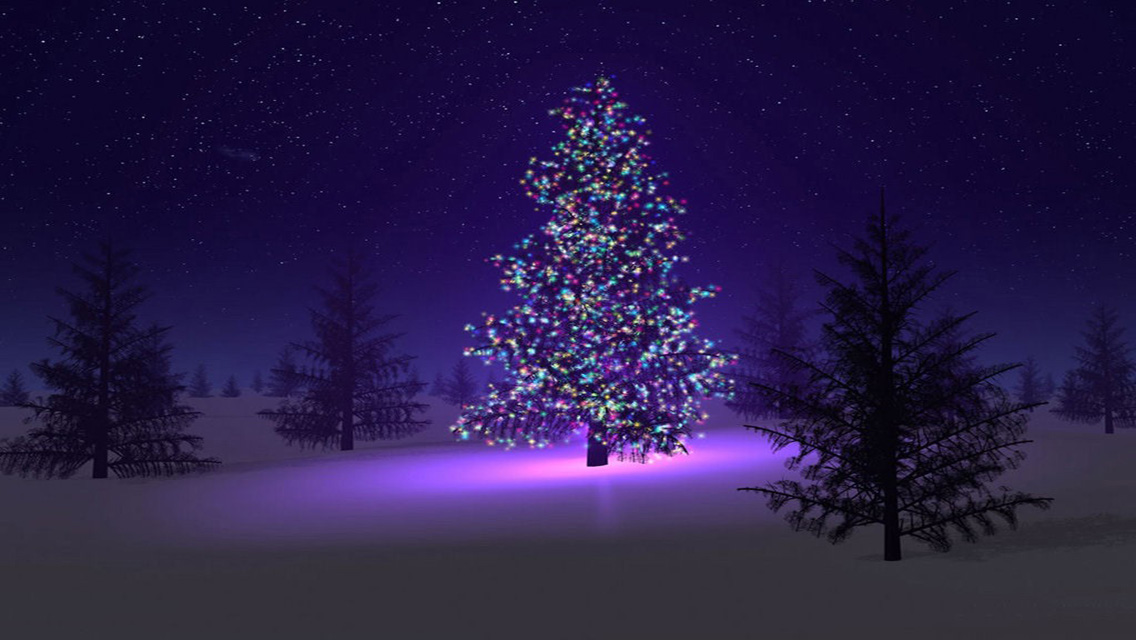 free christmas tree wallpapers - photo #36
