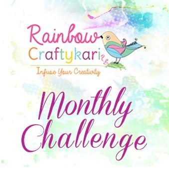 Rainbowcraftykari monthly challenge