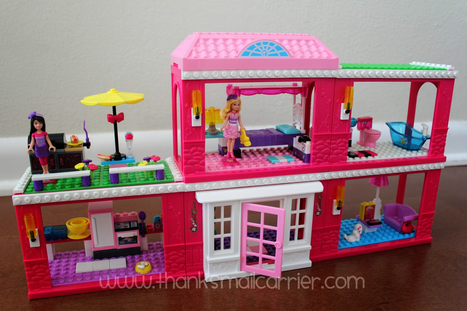 Mega Bloks Barbie Fab Mansion review