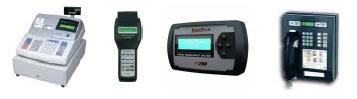 Exemplo de equipamentos comerciais que utilizam display LCD