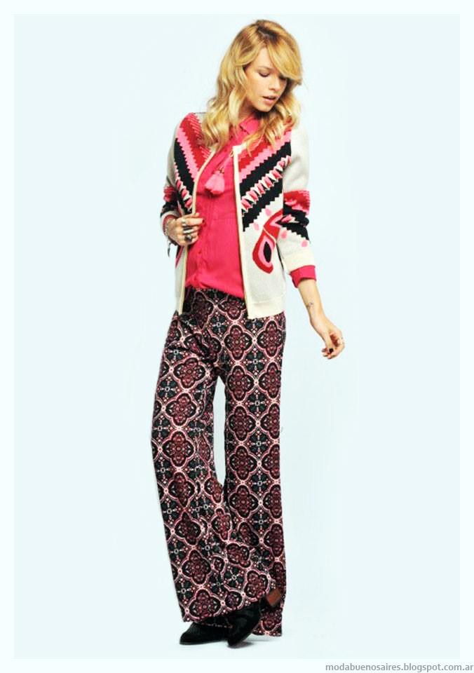Pantalones invierno 2015 moda Zhoue.