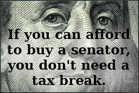 Eliminate Tax Breaks