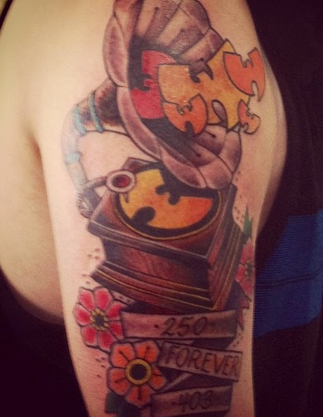 Wu tang clan disciples wu tat thursday 92 for Method man tattoo