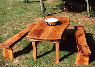 Antique Rustic Garden Furniture