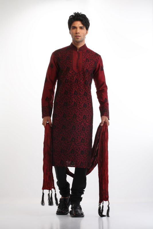 Most Wanted Fashion: MEN'S KURTA DESIGNS : PARTY WEARING ...