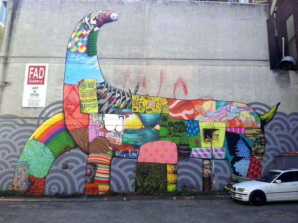 Da mental vaporz new mural in melbourne australia for Australian mural