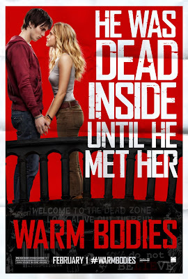 Warm Bodies, zombie love, Teresa Palmer