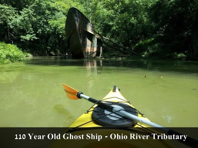 ghost ship ohio river