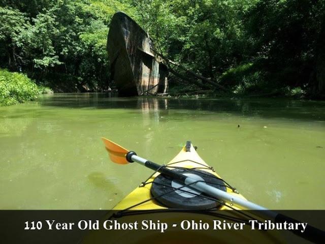 ghost ship ohio river