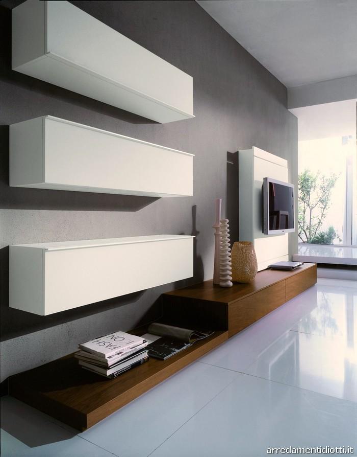 ... Soggiorni moderni in legno: suggestione ed eleganza tra passato e