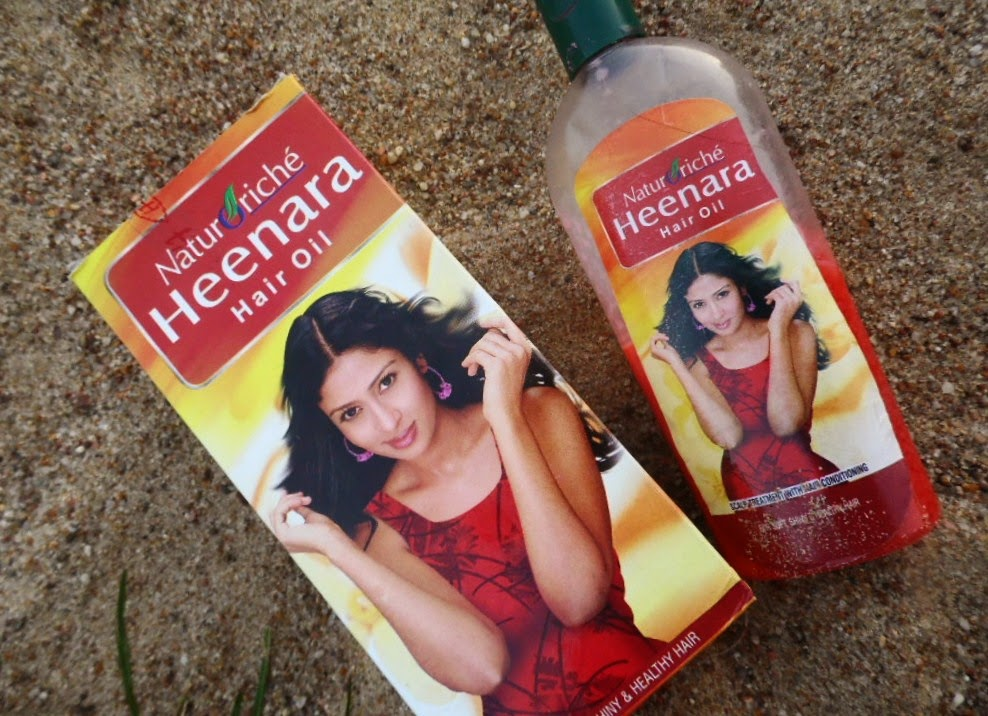 Hesh | Naturoriche | Heenara Hair Oil | Ziołowy olejek do włosów