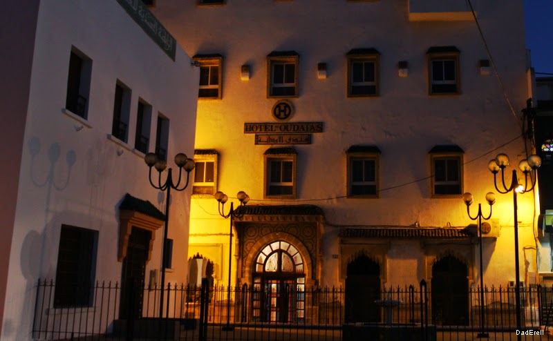 Rabat, hôtel des Oudayas