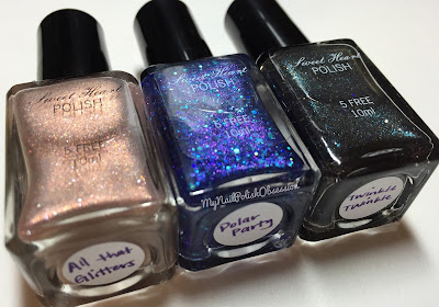 Sweet Heart Polish LE Black Friday Trio