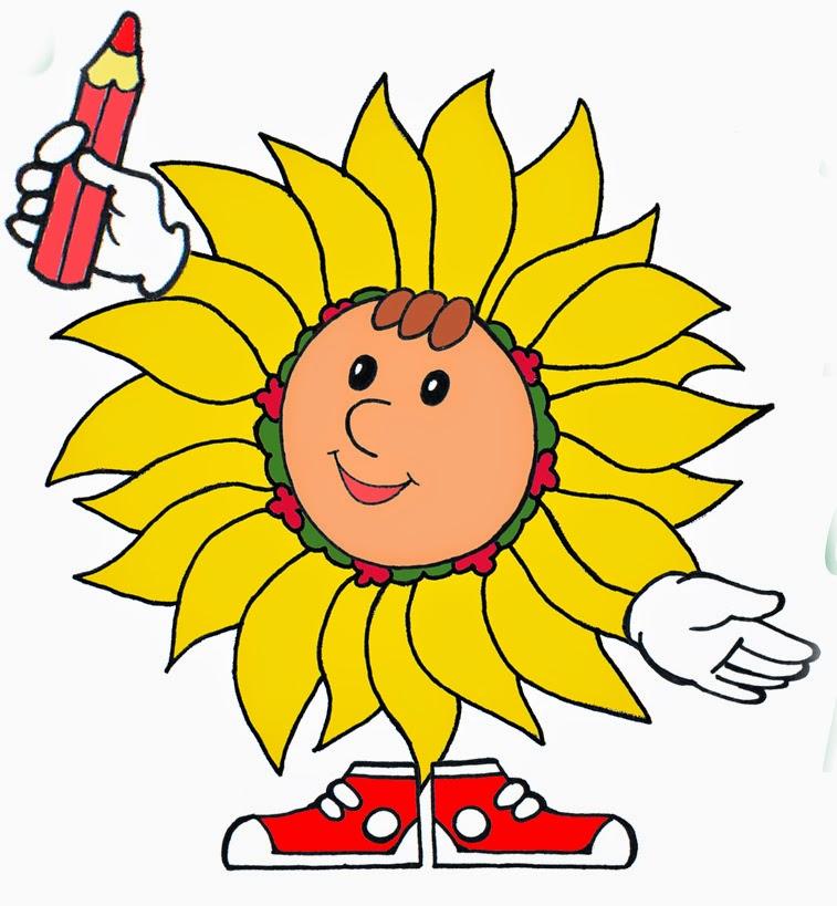 Соняшник малюнок
