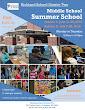 Middle School Summer School 2018