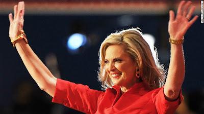 Republican's Mitt Romney's wife Ann Romney