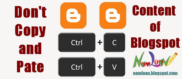 Code chống Copy, quét khối nội dung bài viết blogspot