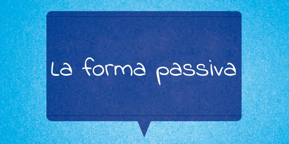 La forma passiva