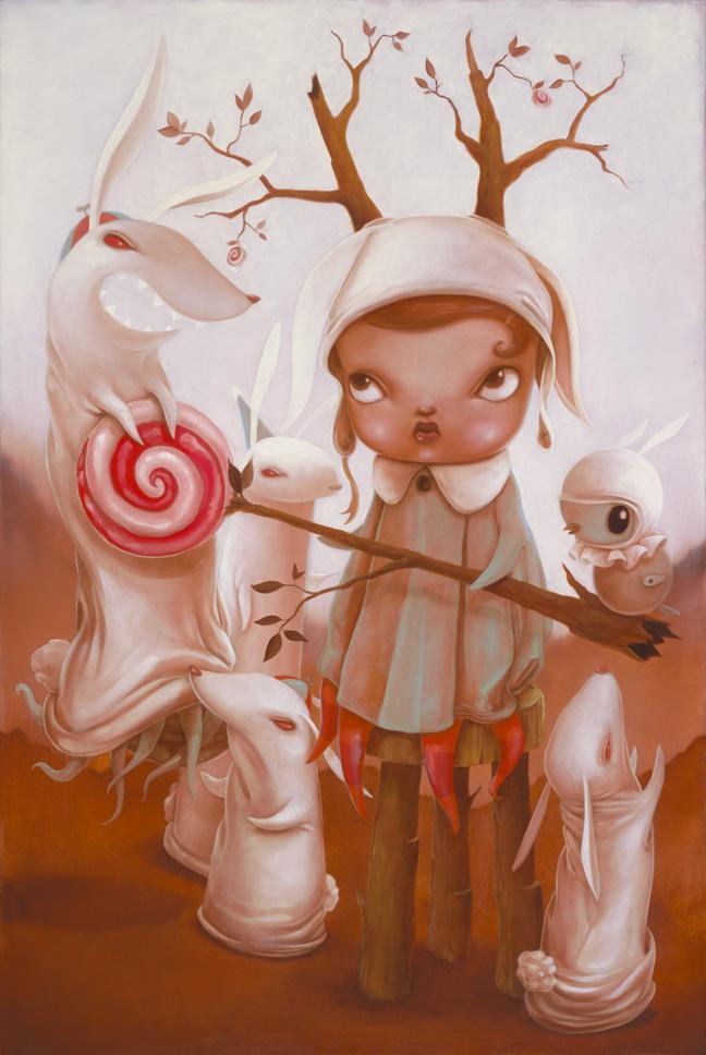 Kathie Olivas rabbits