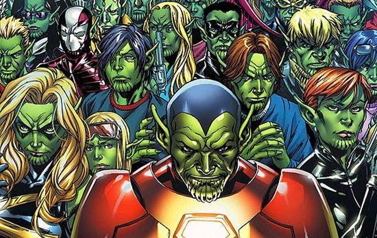 10 Musuh Avengers Terhebat Sepanjang Masa: Skrull