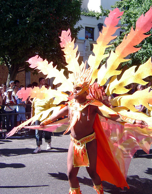 Notting Hill Carnival Reveler