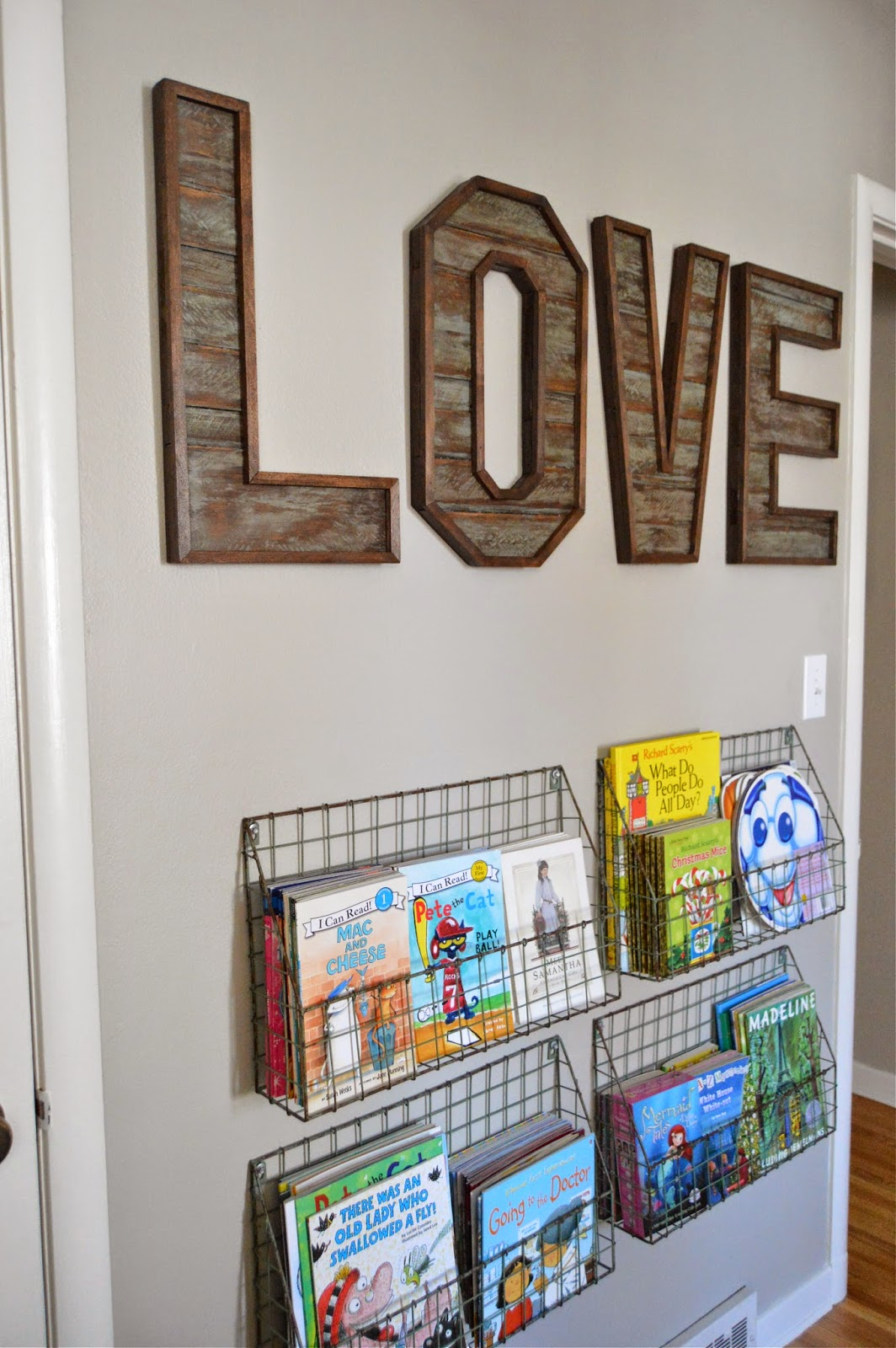Kruse 39 s workshop love letters for Homemade wall letters