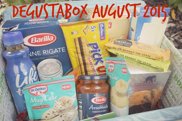 Contents of food subscription box